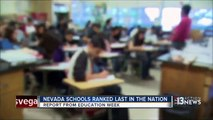 Nevada schools place last in nation in Edu