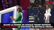 Quand la femme de Donald Trump reprend mot pour mot le discours de Michelle Obama....,Season tv series hd 2017