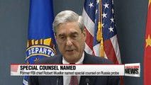 Former FBI chief Mueller named special counsel on Russia probe