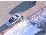Il fuit la police comme dans GTA en volant des voitures !