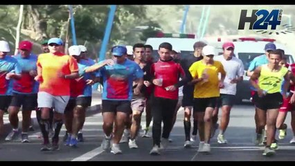 Ali Alaoui Mdaghri  interview du  marathon man  marocain