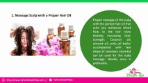 Amazing Tips to Control Hair Fall Naturally | My Home Health Tips
