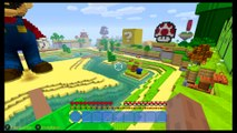 Gameplay de Minecraft en Mundo Mario - Nintendo Switch