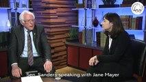 Bernie is sitting down with investigative journalist Jane Mayer