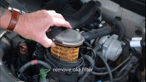 VW A4: New Beetle ALH TDI Fuel Filter replacement - video
