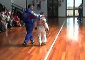 taekwondo black tiger Comb. di Davide Brindisi corazza blu