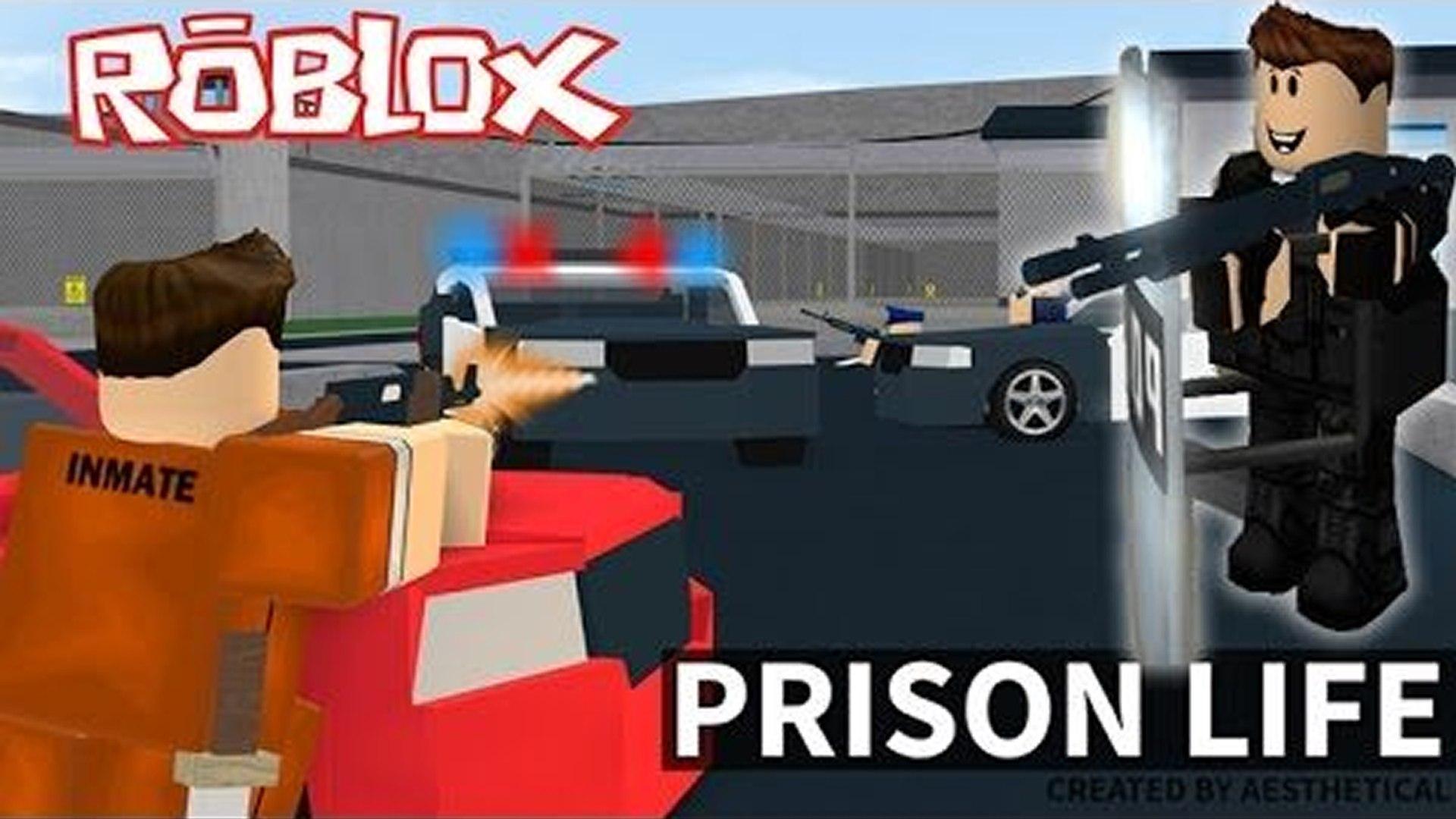 Sis Vs Bro Roblox Prison Prison Life V2 0 Roblox Video Dailymotion