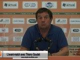 (J38) Laval - Nîmes, avant-match avec T.Goudet