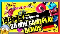 30 MIN von ARMS Gameplay Demos, Soundtrack & PRE-Download | German/Deutsch 60FPS/1080P