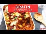 Gratin de gnocchis à la sauce tomate et mozzarella   regal.fr