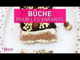 Bûche choco-vanille pour les enfants | regal.fr