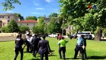 Les gardes du corps du président turc Erdoğan s'en prennent à des manifestants