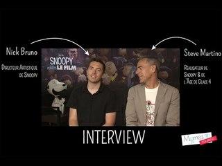 Snoopy et les Peanuts : Interview de Steve Martino le réalisateur  | Momes.net