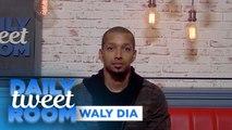 """Waly Dia : """"Si je n'avais pas été humoriste, je serais... huissier de justice!"""" - #DailyTweetRoom"""