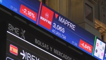 El Ibex cae el 0,94% y baja de los 10.700 puntos arrastrado por el Santander