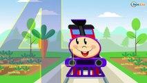 Caricaturas de Trenes - Aprende los Formas - Dibujos Animados Educativos Para Niños