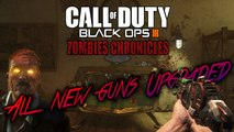 ALL ZOMBIES CHRONICLES GUNS PACK A PUNCHED (Every Black Ops 3 Zombies Chronicles Weapons Upgraded)