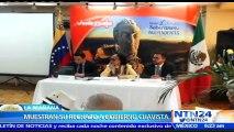 Venezolanos protestan frente a la embajada de Venezuela en México contra Gobierno de Maduro