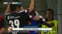 Seydou Doumbia Goal Basel 2 - 1 Sion Super League 18-5-2017