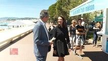 Monica Bellucci, Uma Thurman, Sandrine Kiberlain dans Le Journal du Festival - Festival de Cannes 2017