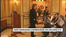 Crédit lyonnais : Bernard Tapie va devoir rendre l'argent - Affaire Tapie