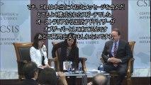 反日マスコミが報道しないニュース 稲田朋美防衛大臣がアジア太平洋の平和と繁栄のために関する英語スピーチ後の対談と質問に回答