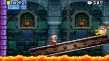 New Super Mario Bros. DS - All 19 Boss Fights (Tower & Castle Bosses) Ending & Credits