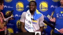 【NBA】Draymond Green Practice Interview | Warriors vs Spurs | Game 3 | May 18, 2017 | NBA Playoffs