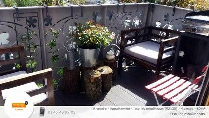 A vendre - Appartement - Issy les moulineaux (92130) - 4 pièces - 80m²