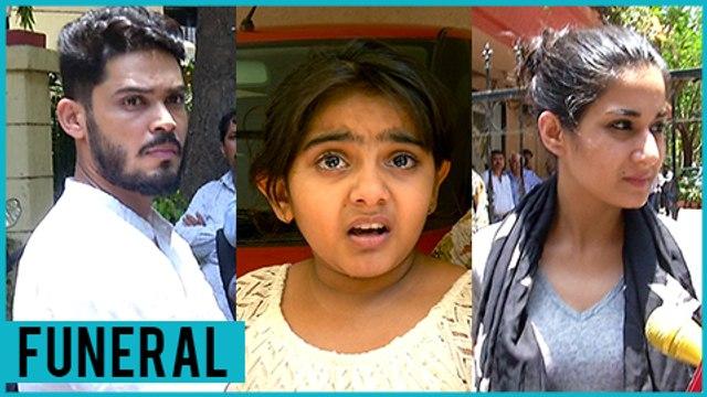 Aditi Rathore, Kunwar Amar, Arsheen Namdaar   Celebrities At Reema Lagoo FUNERAL