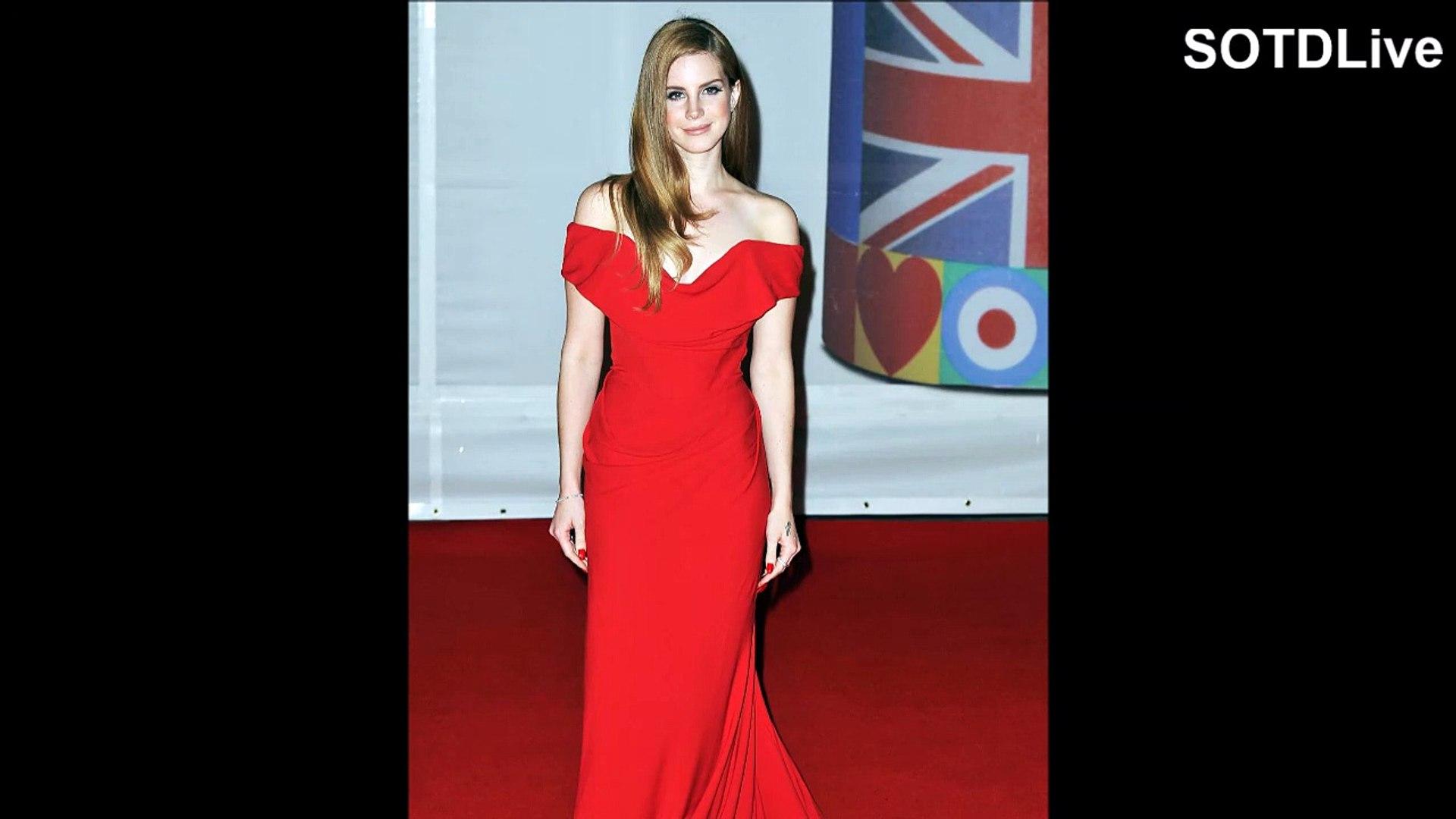 LANA DEL REY looks RAVISHING in RED DRESS | SOTDLive | Episode 1