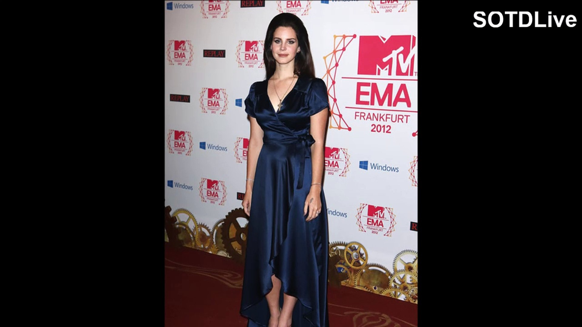 LANA DEL REY looks RAVISHING in BLUE DRESS | SOTDLive | Episode 5