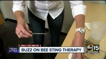 Valley woman uses bee therapy to cure Lyme Disease