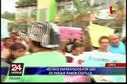 Lince: recolectan firmas para derogar ordenanza sobre uso de parque Castilla
