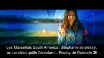 Les Marseillais South America Stéphanie se blesse