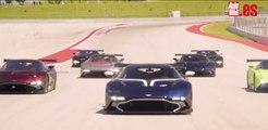 VÍDEO: Festín Aston Martin Vulcan en el Circuito de las Américas