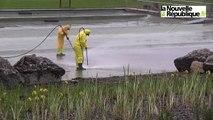 VIDEO. Loir-et-Cher : grand nettoyage à la baignade naturelle de Mont-Près-Chambord