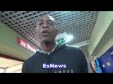calvin ford (gervonta trainer) on canelo vs ggg wilder vs joshua  EsNews Boxing
