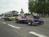 DS Virgin Racing : la parade avant le ePrix de Paris 2017