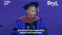 Le discours féministe de Pharrell Williams à la New York University