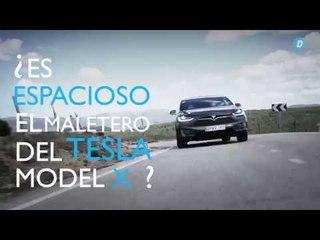 Tesla Model X: Capacidad de maletero |Diariomotor