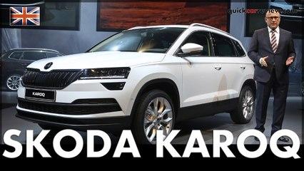 Stockholm: SKODA World premiere of the new SKODA KAROQ | SUV | Car | English