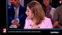 David Pujadas viré du 20h : Le touchant hommage de Léa Salamé (vidéo)