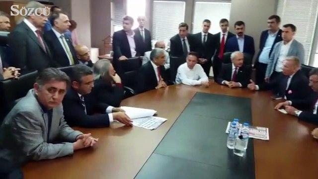 CHP Genel Başaknı Kemal Kılıçdaroğlu Sözcü gazetesi'nde