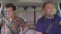 "Harry Styles Joins James Corden for ""Carpool Karaoke"" 