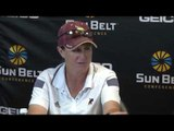 2016 Sun Belt Conference Softball Championship: Game 11 Texas State Press Conference