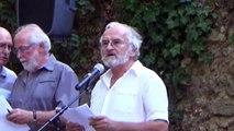 2016 Cérémonie en hommage aux enfants juifs - intervention au nom de l'association