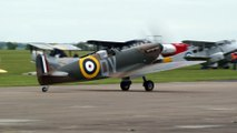 Blenheim Mk.1F and Spitfire Mk.1A  at Duxford 23rd May 2015