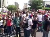 REPRESION POLICIA REGIONAL DEL ZULIA MARCHA OPOSITORA EN MARACAIBO