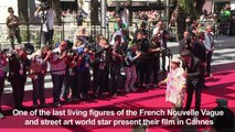 Cannes: Agnes Varda, street artist JR present their documentary
